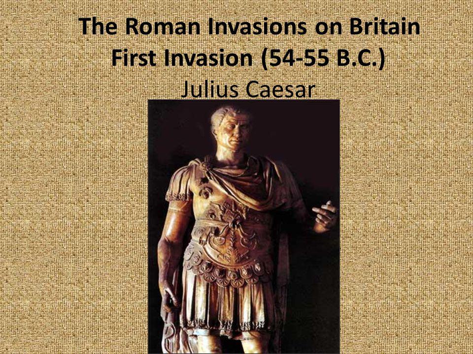 The Roman Invasions on Britain