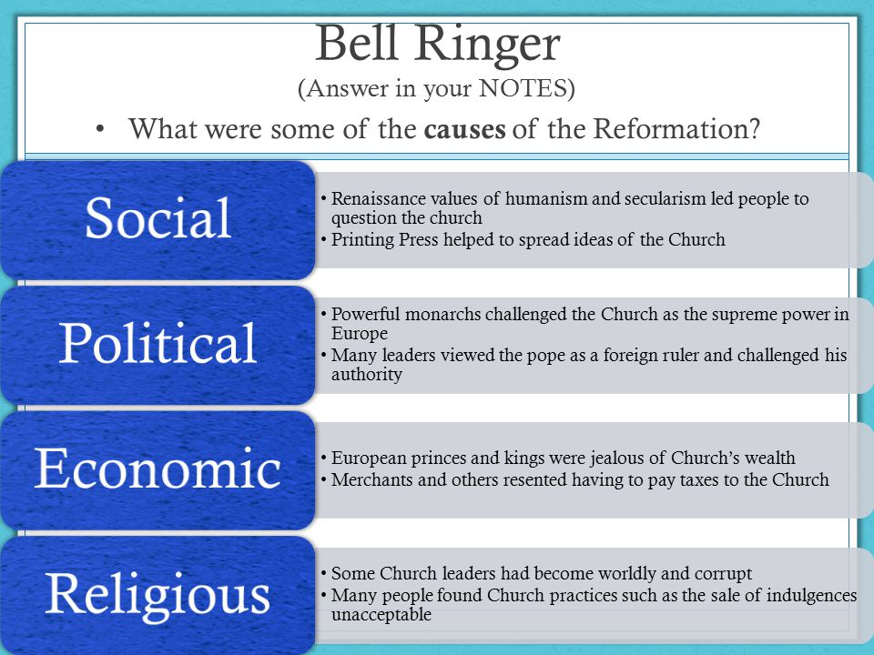 Bell Ringer (Answer in your NOTES)