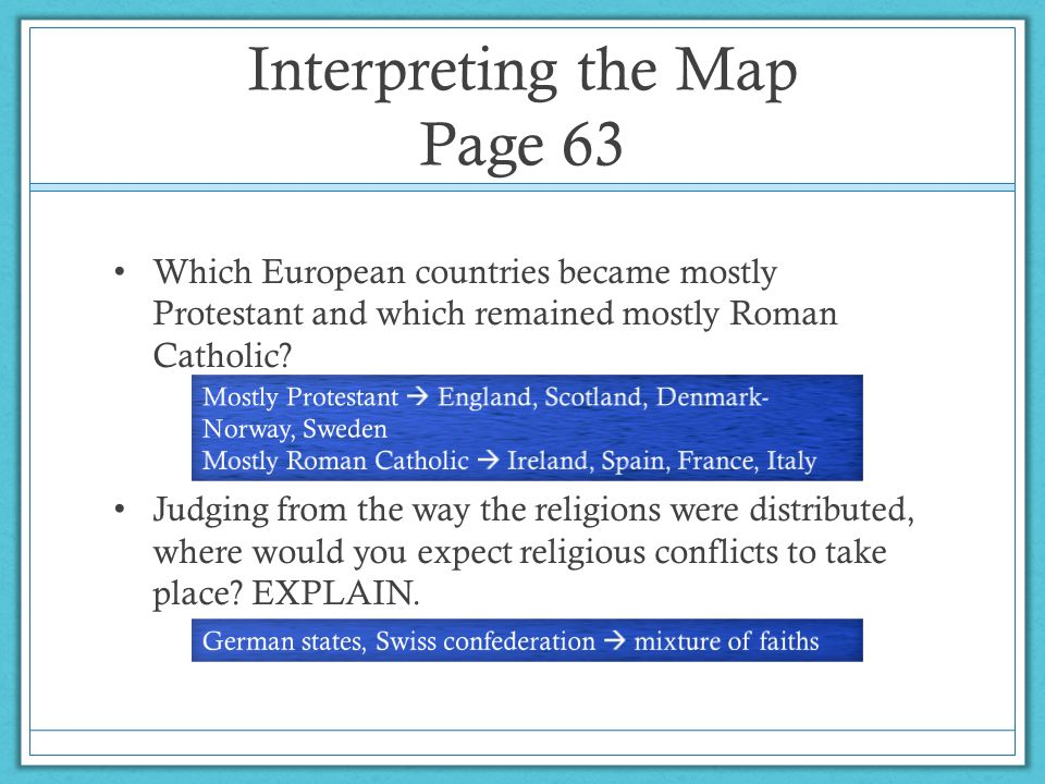 Interpreting the Map Page 63