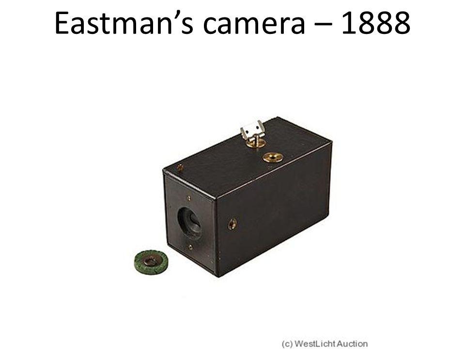 Eastman's camera – 1888