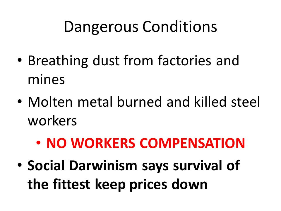 NO WORKERS COMPENSATION