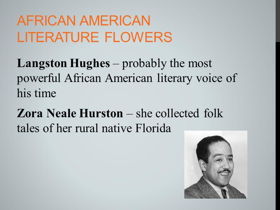 African American Literature Flowers
