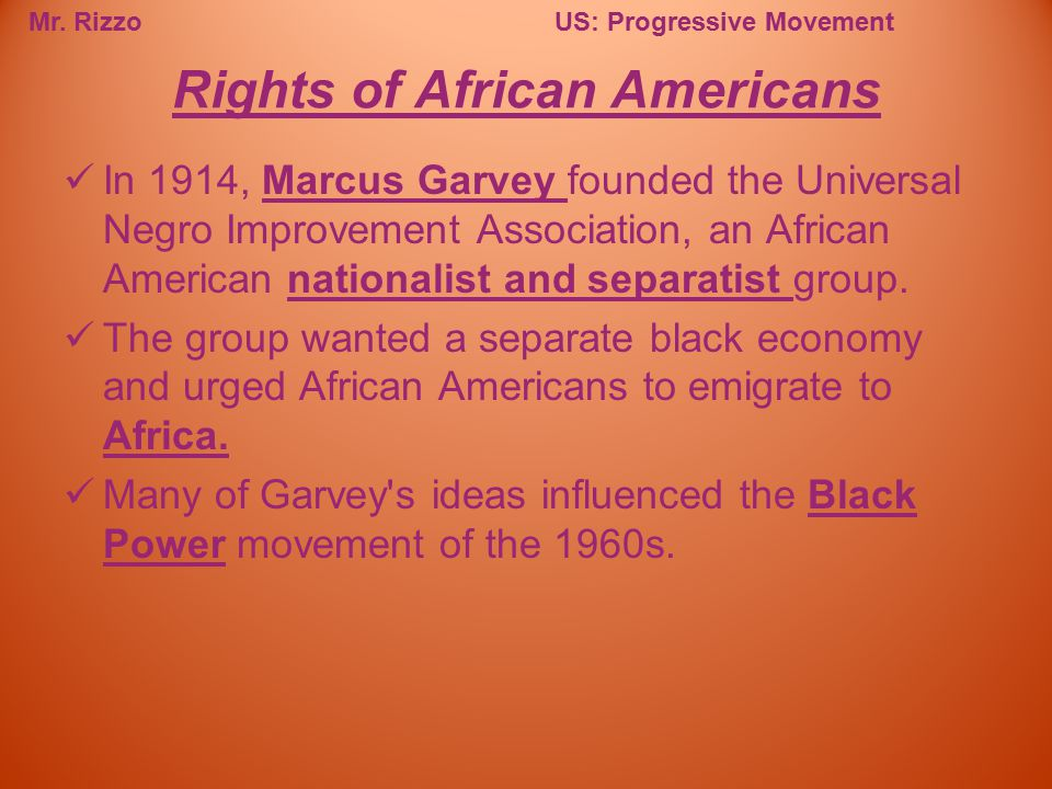 Rights of African Americans