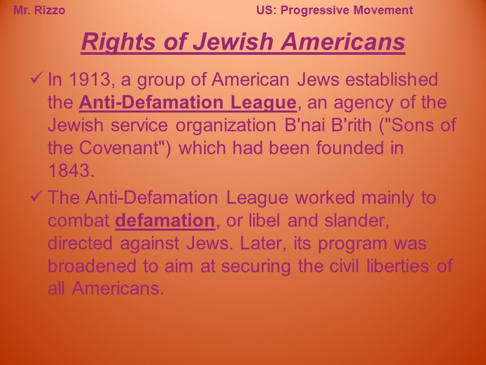 Rights of Jewish Americans