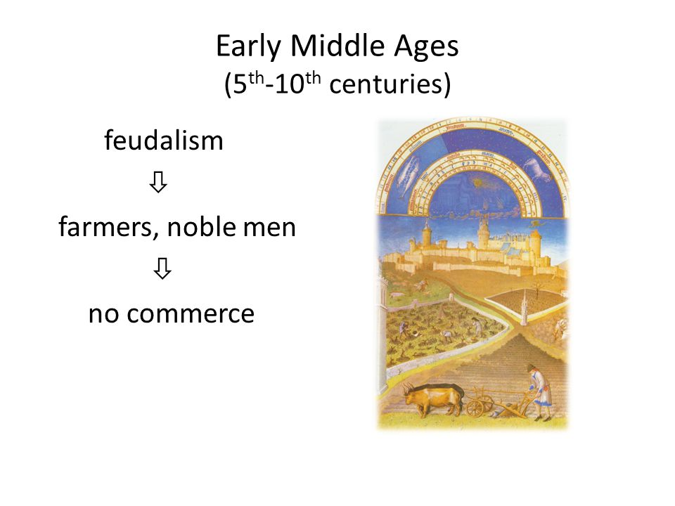 Early Middle Ages (5th-10th centuries)