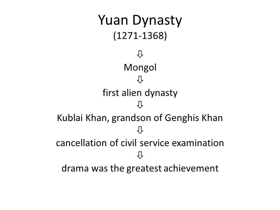 Yuan Dynasty (1271-1368)