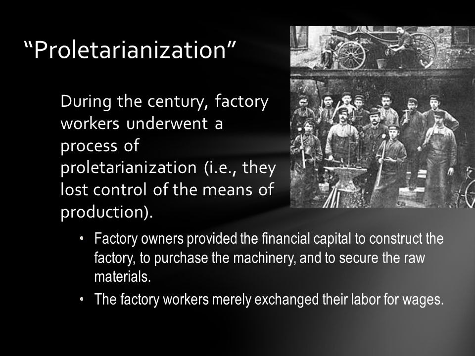 Proletarianization
