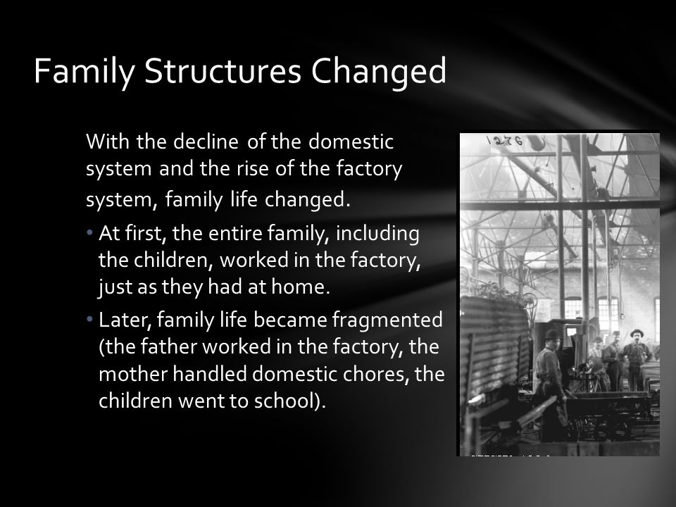Family Structures Changed