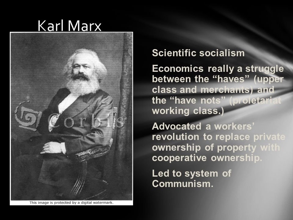 Karl Marx Scientific socialism