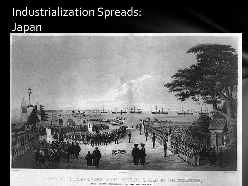 Industrialization Spreads: Japan
