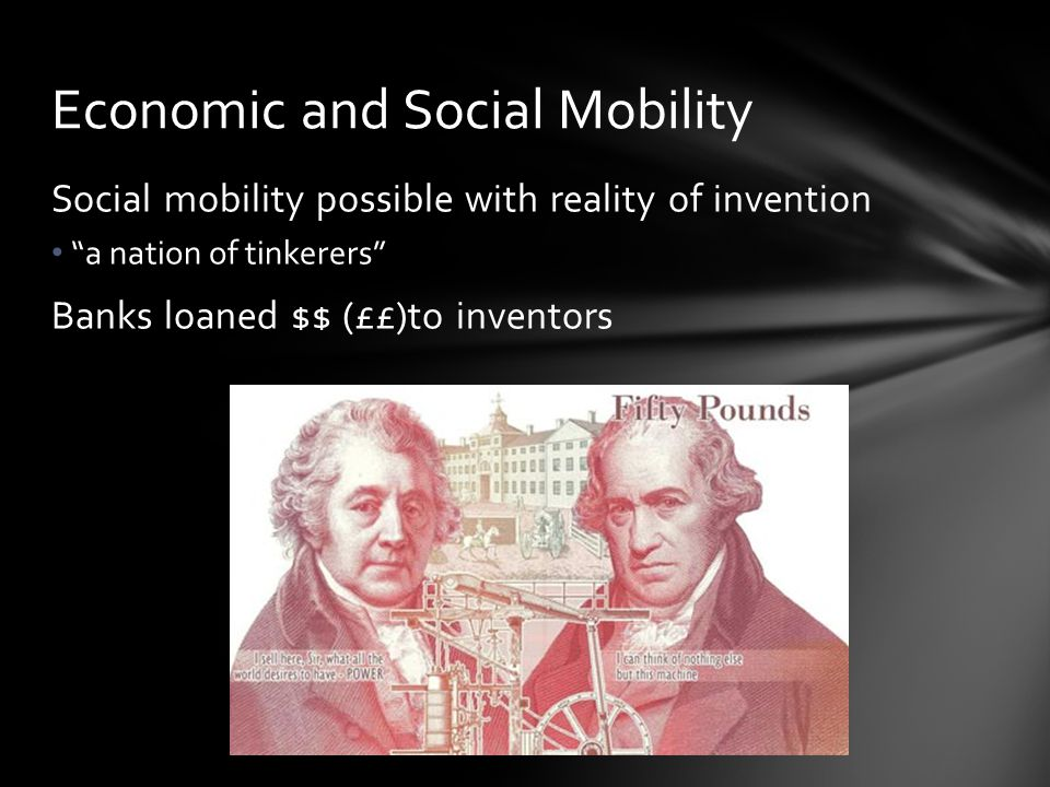 Economic and Social Mobility