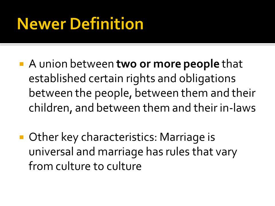 Newer Definition