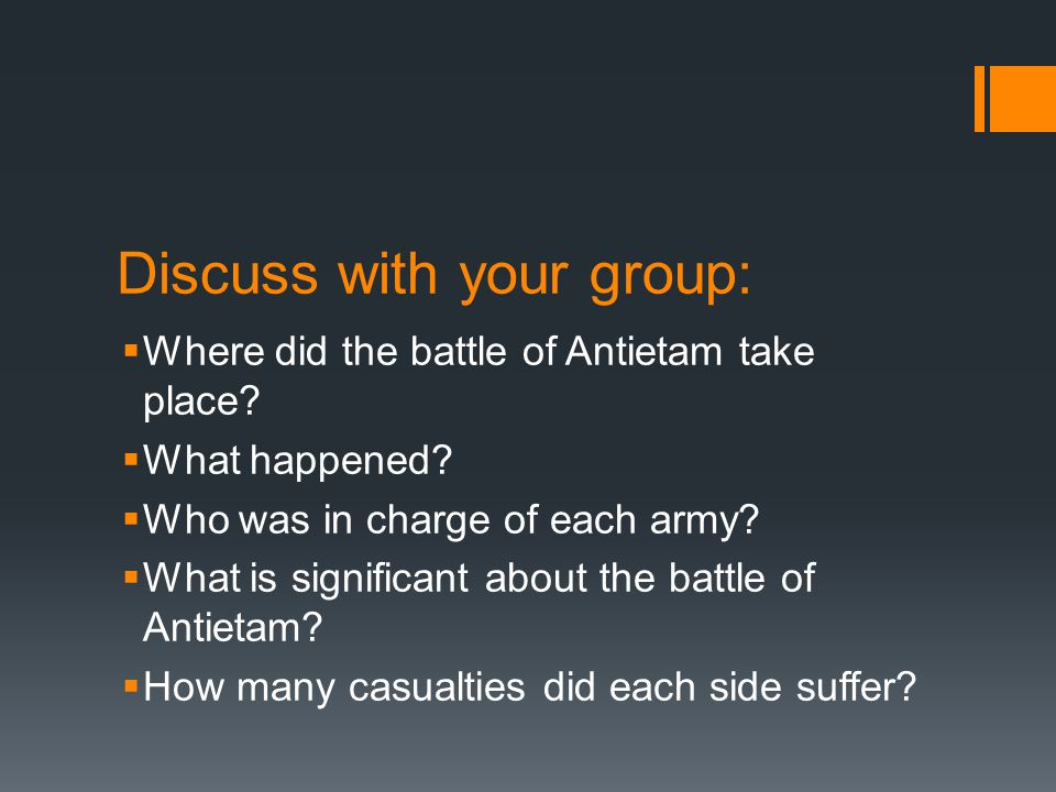 Discuss with your group: