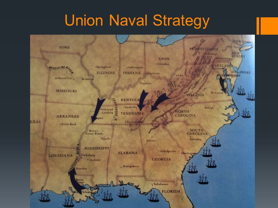 Union Naval Strategy