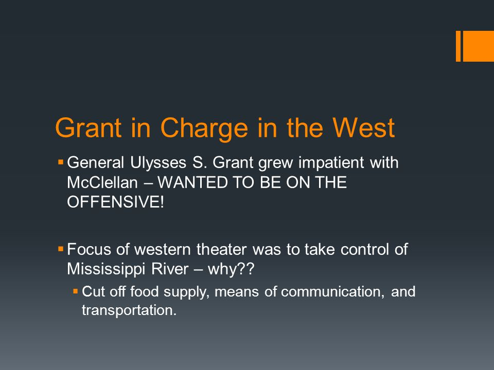 Grant in Charge in the West