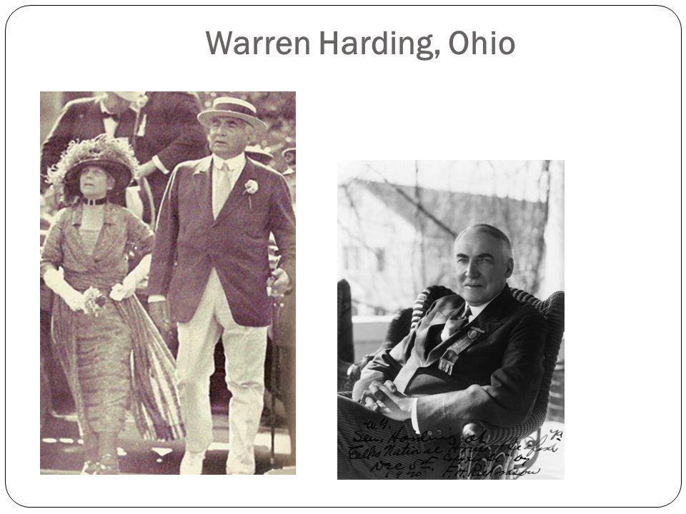 Warren Harding, Ohio
