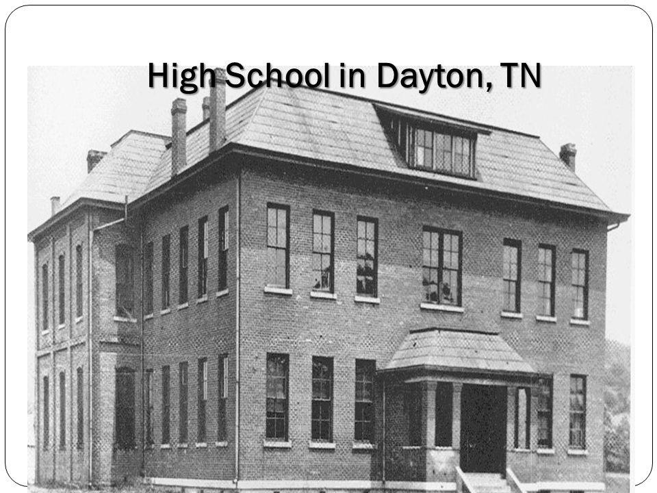 High School in Dayton, TN