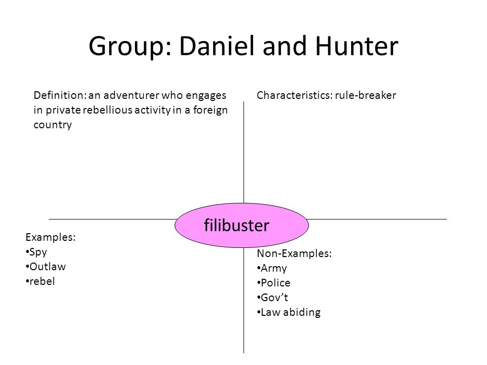 Group: Daniel and Hunter