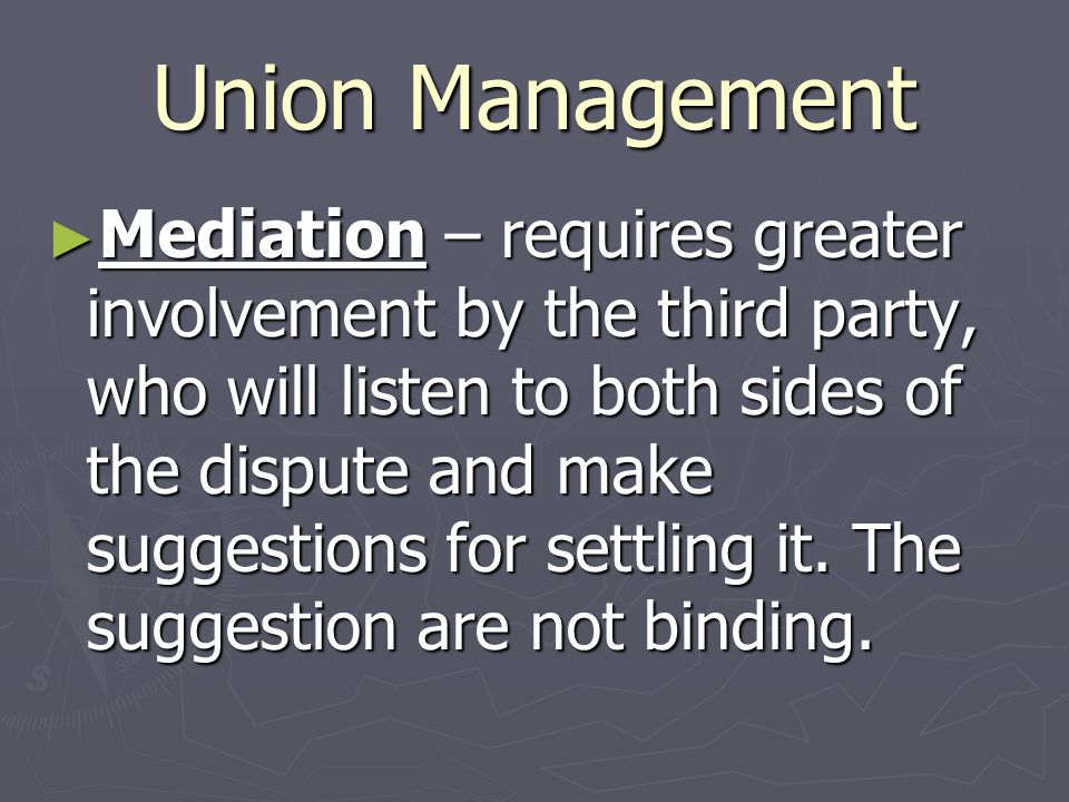Union Management
