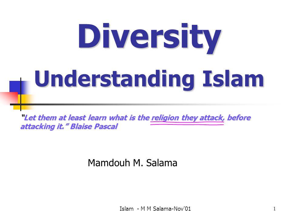 Diversity Understanding Islam