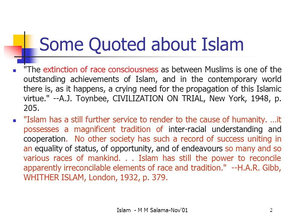 Some Quoted about Islam