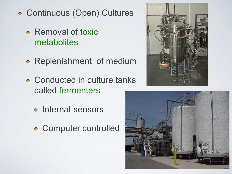 Continuous (Open) Cultures