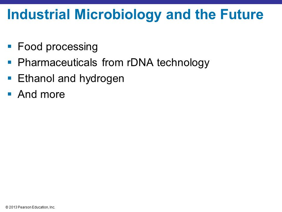 Industrial Microbiology and the Future