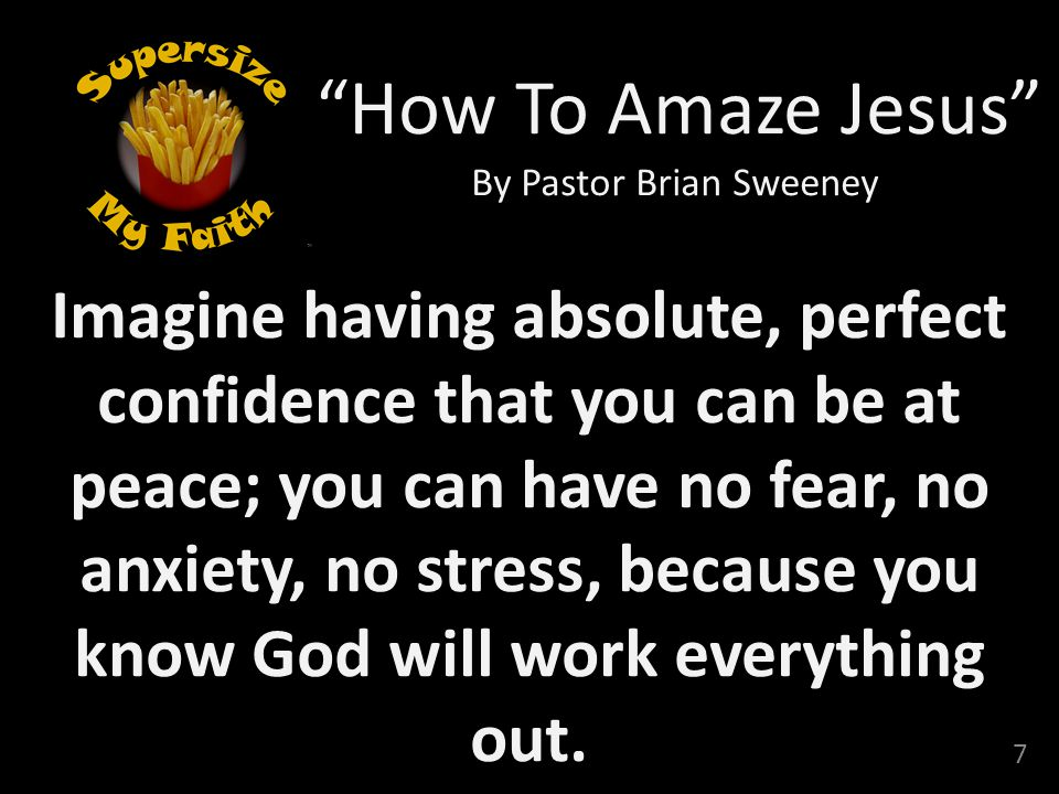 By Pastor Brian Sweeney