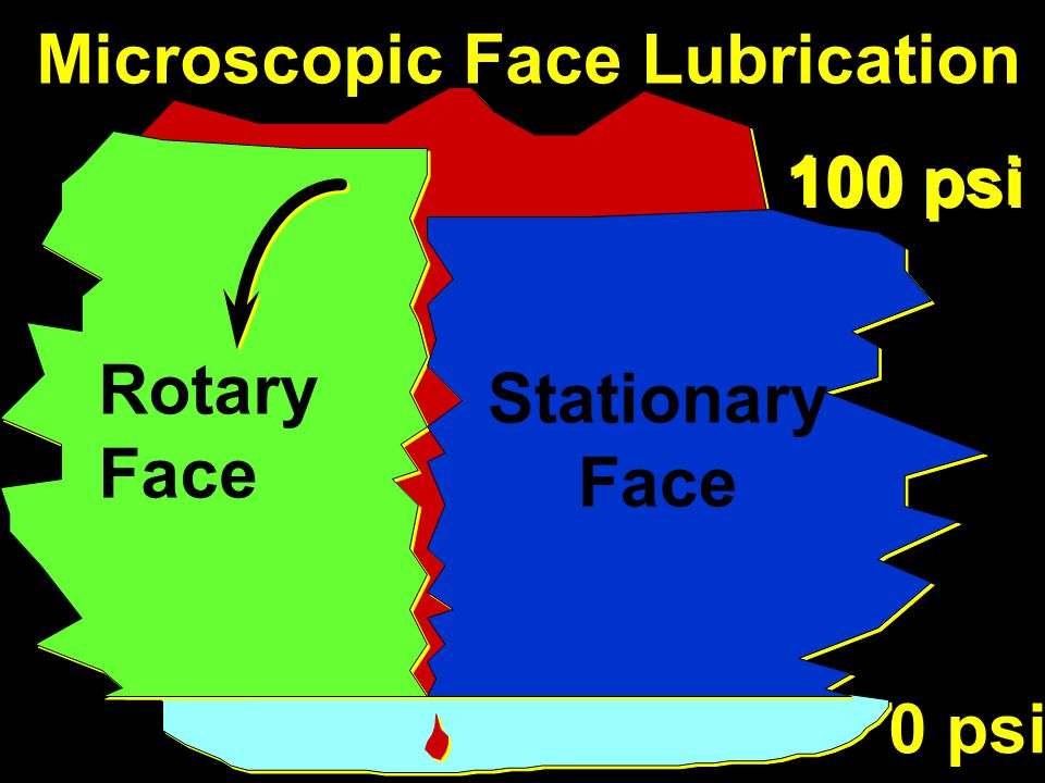 Microscopic Face Lubrication
