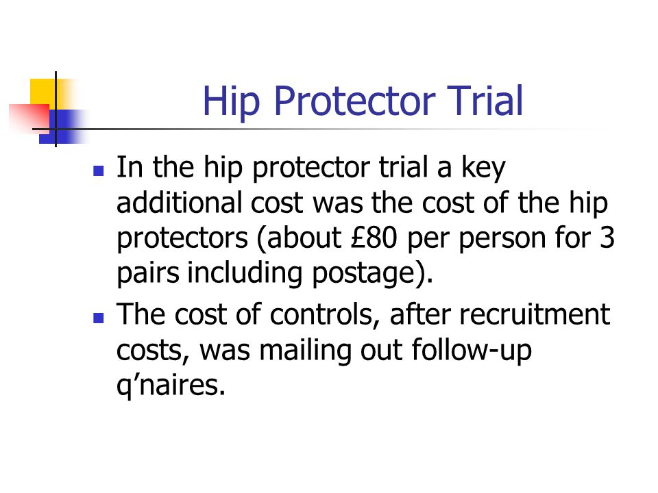 Hip Protector Trial