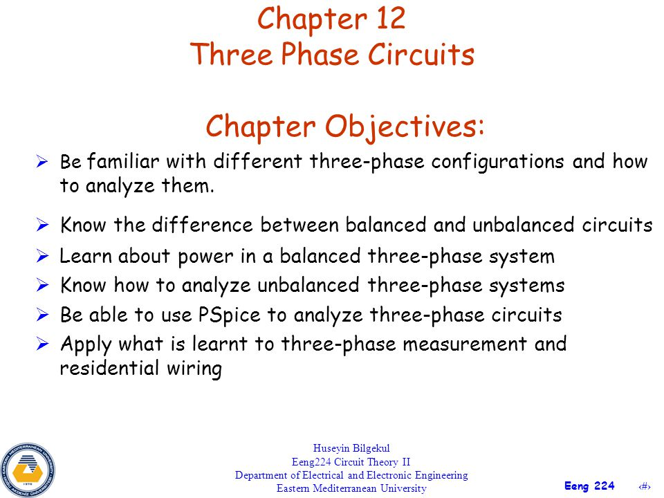 Chapter 12 Three Phase Circuits - ppt video online download