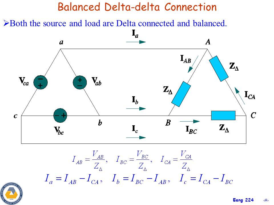 Balanced Delta-delta Connection