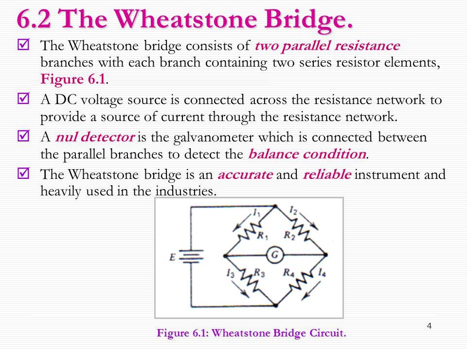 6.2 The Wheatstone Bridge.