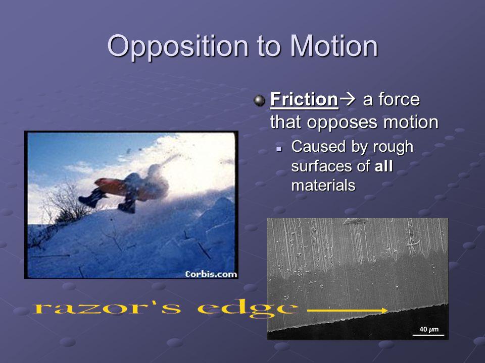 Opposition to Motion razor s edge