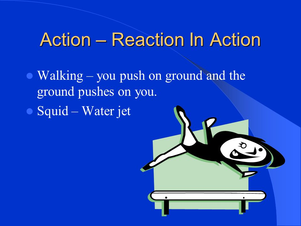 Action – Reaction In Action
