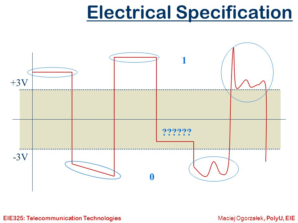 Electrical Specification
