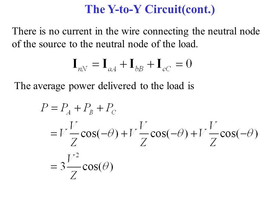The Y-to-Y Circuit(cont.)