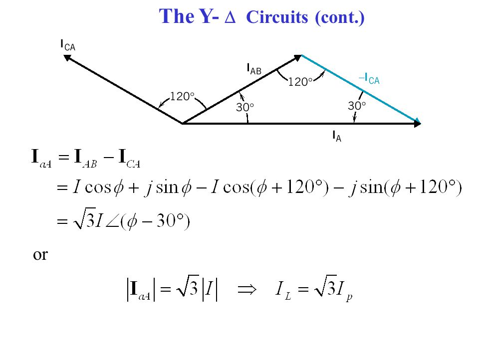 The Y-  Circuits (cont.)