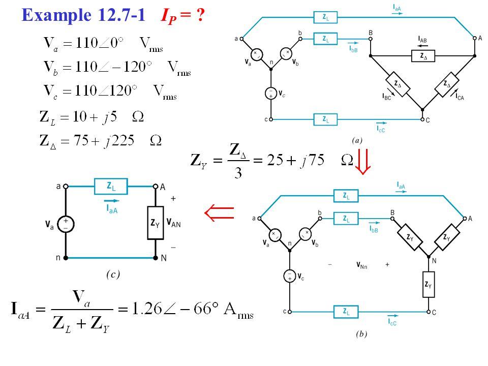 Example 12.7-1 IP =