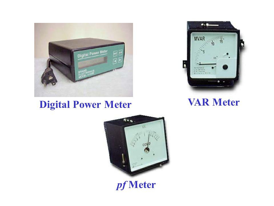 VAR Meter Digital Power Meter pf Meter