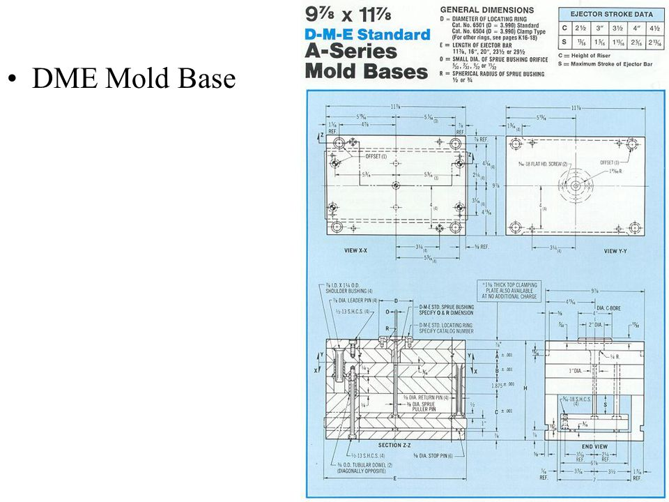 DME Mold Base