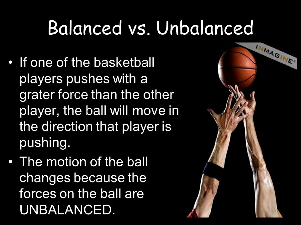 Balanced vs. Unbalanced