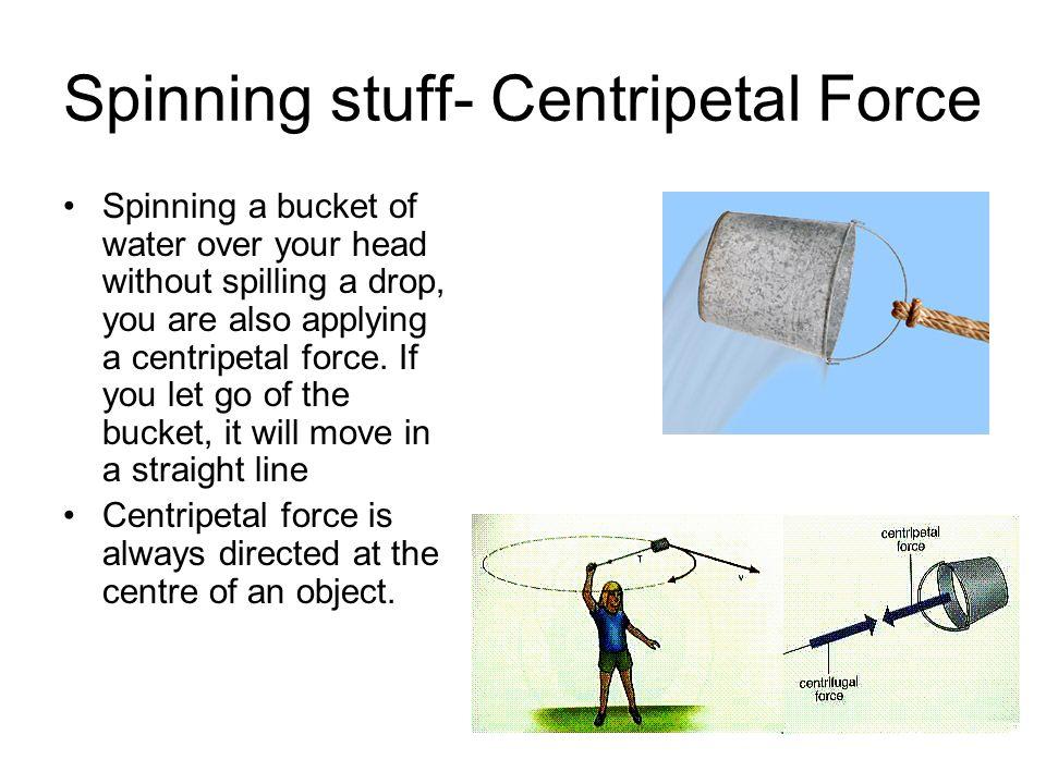 Spinning stuff- Centripetal Force