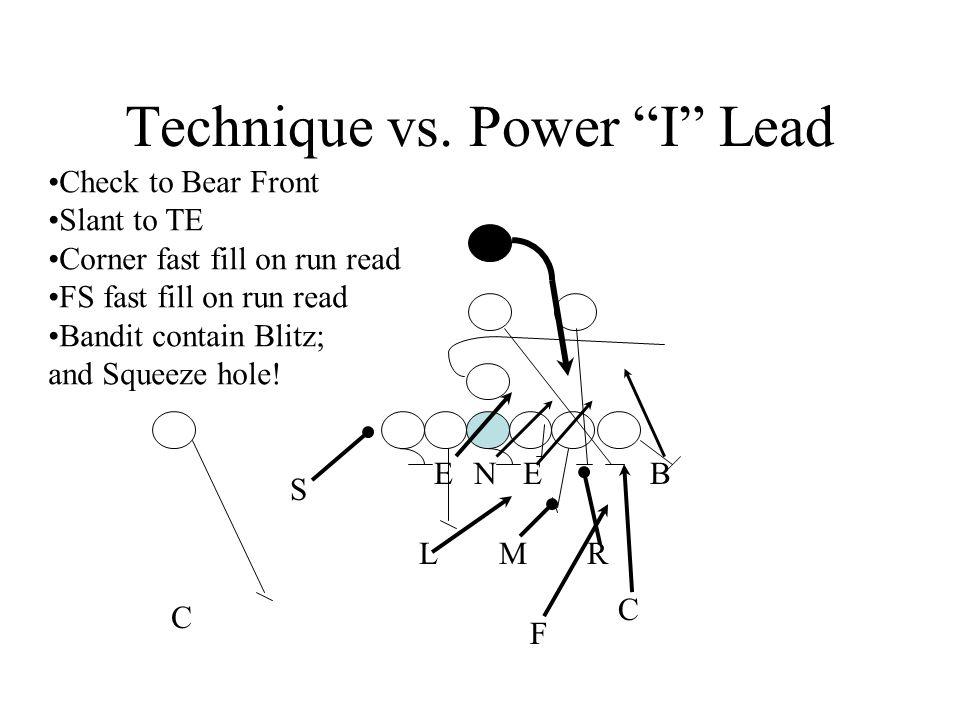 Technique vs. Power I Lead
