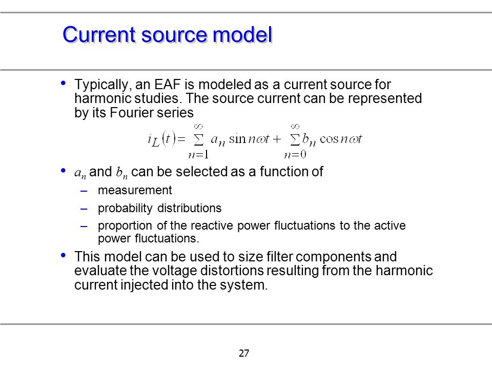 Current source model