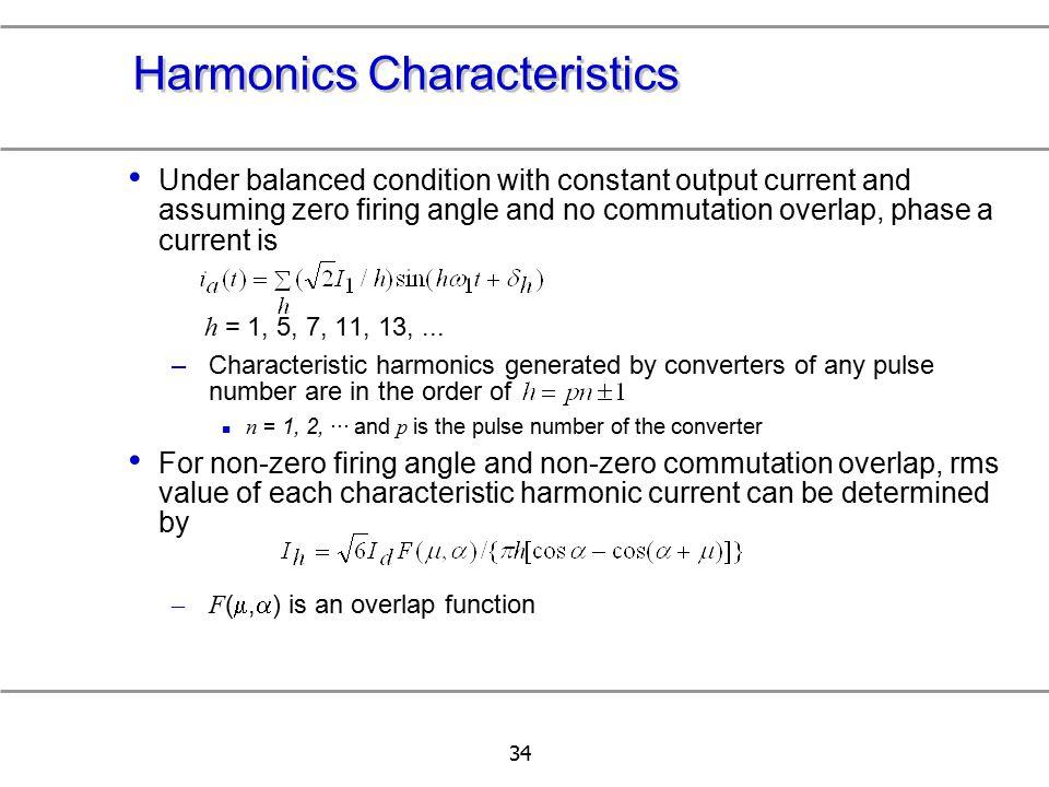 Harmonics Characteristics