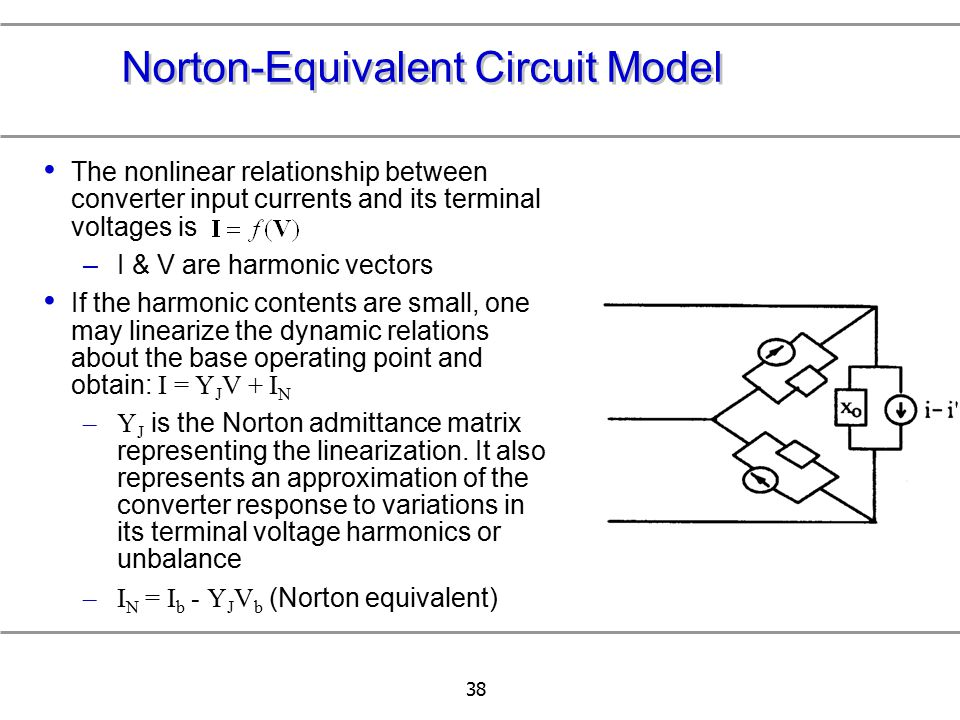 Norton-Equivalent Circuit Model