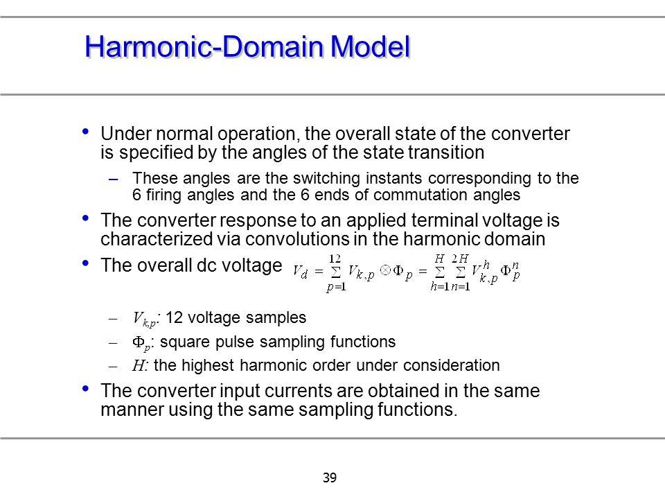 Harmonic-Domain Model