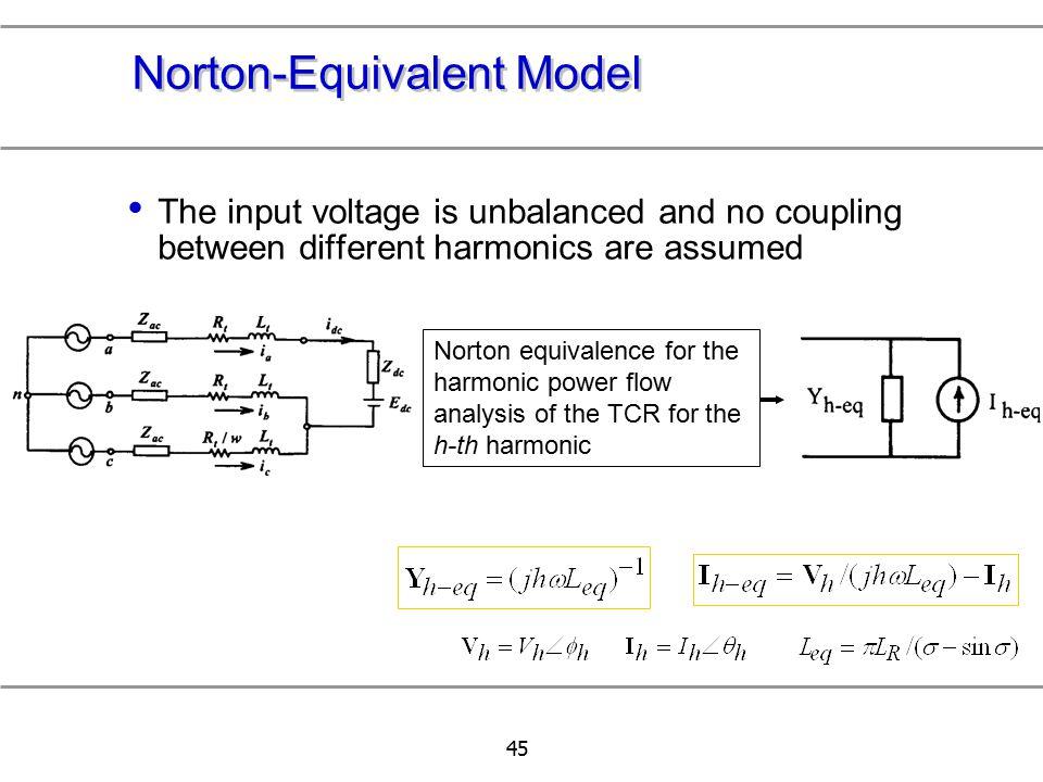 Norton-Equivalent Model