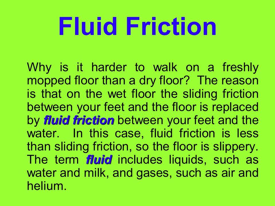 Fluid Friction
